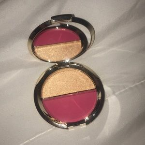 Becca blush and highlighter duo